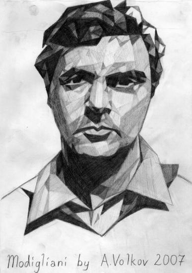 Amedeo Modigliani by volkov
